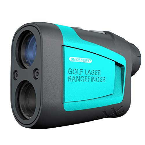 KOMOK High Accurracy Golf Laser Rangefinder,656 Yard Measuring Distance,6X HD Eye Lens with Slope,Range,Height,Flagpole,Speed Mode,FDA Approved