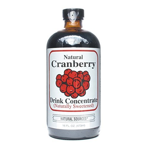 Natural Sources Concentrate Cranberry 16 Fz