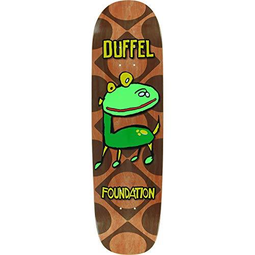 Foundation Duffel Barkee Skateboard Deck -8.38x32.38 - Assembled AS Complete - Skateboards Foundation Duffel