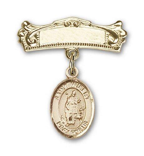 Icecarats Or Bijoux De Créateurs Rempli R. Hubert De Charme Liege Broches Badge Arc 7/8 X 3/4