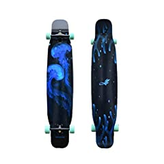 Product Name: Long board dance board (flat)       Material: bamboo + glass fiber       Wheel: SHR78A hardness wheel       Carrying capacity: 200KG       Suitable for: male / female / children       Bracket: Available in black and silve...