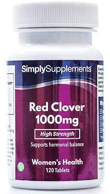 Trébol Rojo 1000mg – 120 comprimidos – Hasta 3 meses de suministro – Para los síntomas