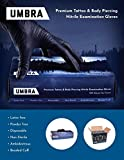 Recovery Umbra Black Disposable Nitrile Gloves
