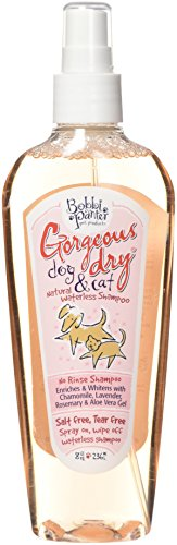 Bobbi Panter Gorgeous Dry Dog & Cat No-Rinse Shampoo Spray, 8oz, Pink by Bobbi Panter Pet Products