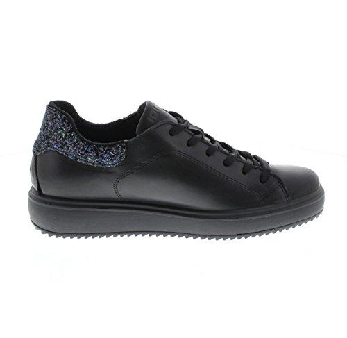 Igi & Co 8770 Sneaker Black 000 Black Talla 41