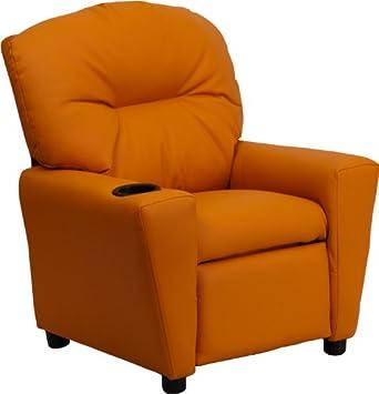 Flash Muebles contemporáneo Beige Vinilo niños reclinable ...