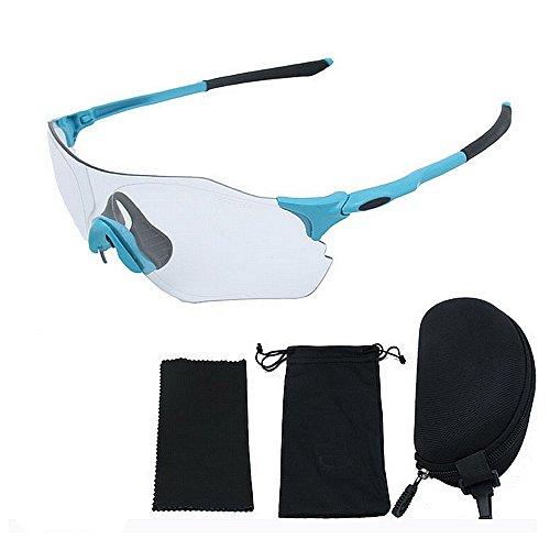 Libre Azul De Prueba Hombre para De Mujeres De Bicicleta Gafas Al de Aire Montaña Montar Ejecutan A LBY Sol Que Hombres De Y Color Gafas Negro Equipos Descoloridas Viento fZnAzw