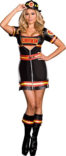 Smokin' Firefighter Adult Costume - -