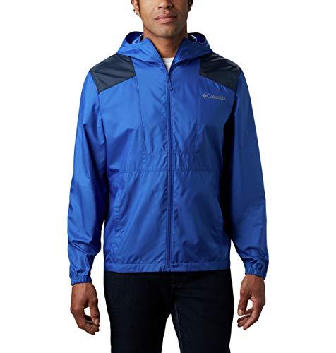 Columbia mens Flashback Windbreaker Jacket, Water Resistant