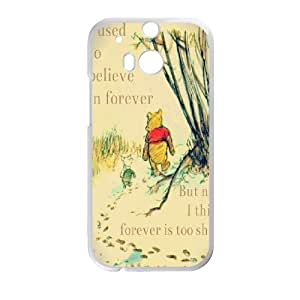 Winnie The Pooh & Quotes for HTC One M8 Cell Phone Case & Custom Phone Case Cover R88A652212