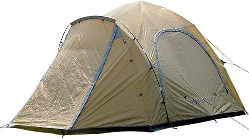クイックキャンプ (QUICKCAMP) ダブルウォール キャビンテント 4人-5人用 QC-DT270 前室 インナーテント付き アウトドア キャンプ 大型 ワンタッチテント【室内ゆったり 大型窓付き オールシーズン対応】