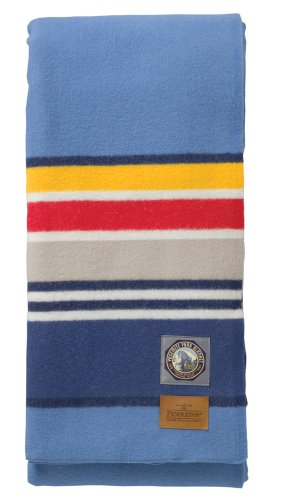 Pendleton - Yosemite Light Blue National Park Blanket, Queen