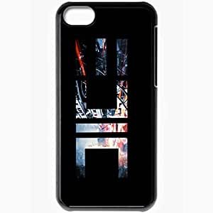 Personalized iPhone 5C Cell phone Case/Cover Skin Cursor Logo Black