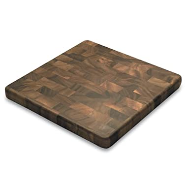Square End Grain Chef's Board, Acacia Wood