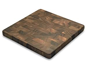 Ironwood Gourmet, Acacia Wood, 14-inch by 14-inch by 1.25-inch Square End Grain Chef's Board