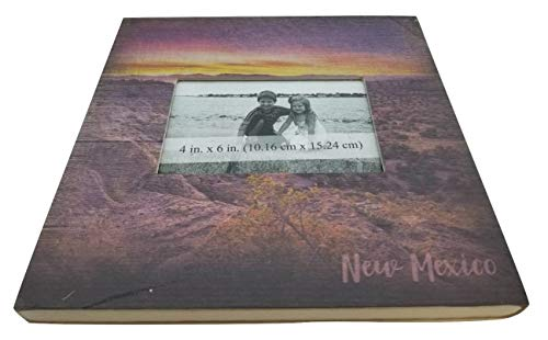 New Mexico Landscape Souvenir Wood Picture Frames for Your Home, Wall, Tabletop, Desk