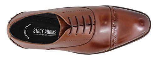 Stacy Adams Barris Mens Oxford Cognac