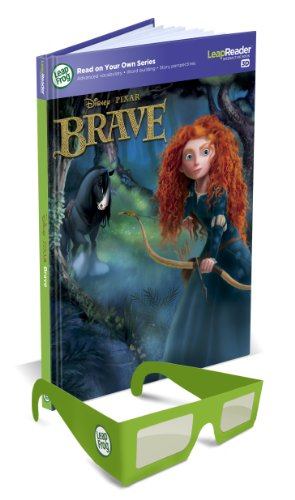 LeapFrog LeapReader Disney/Pixar Brave 3D Book (Works with Tag) (Use But In A Sentence For Kindergarten)