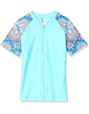 Rip Curl Girls' Girl Zip-Thru Ss Uv
