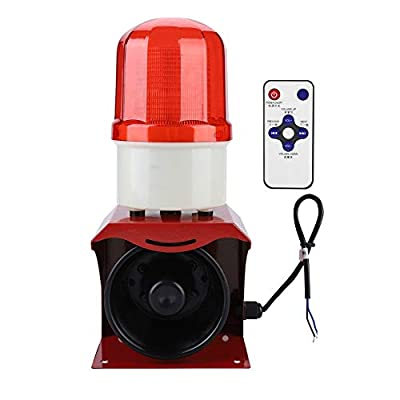 Fire Horn Siren Alarm 12-24V Sound Warning Alarm Speaker for Industry Firefighting Emergency Security Alarm Sound And Light