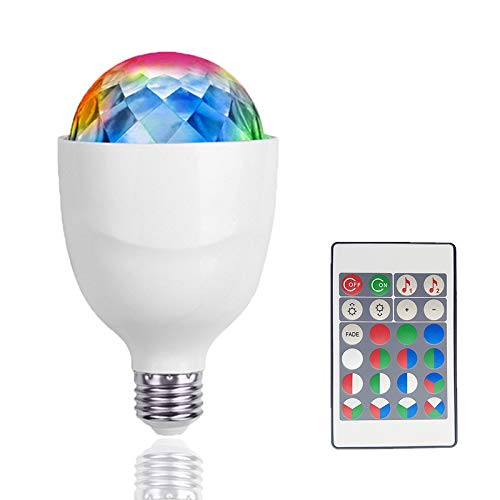 Crystal Ball Effect Light E27 Led