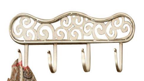 Elegante perchero de hierro forjado perchas de hierro ...