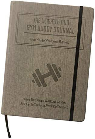 Habit Nest The Weightlifting Gym Buddy Journal A 12-Week Personal Training Program in A Journal. A 12-Week Workout and Exercise Journal/Log. Your Ultimate Fitness Planner.