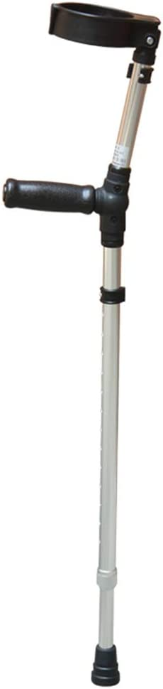 LIBWX Muletas, bastón para discapacitados, Andador Ligero (Color: Azul/Plateado),Plata,1packs