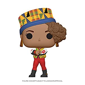 Funko Pop! Rocks: Salt-N-Pepa - Pepa,Multicolor 3