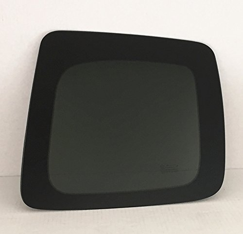 Rear Glass Quarter Left (2005-2015 Toyota Tacoma 2 Door Extended Cab Pickup Driver Side Left Rear Quarter Window Glass)