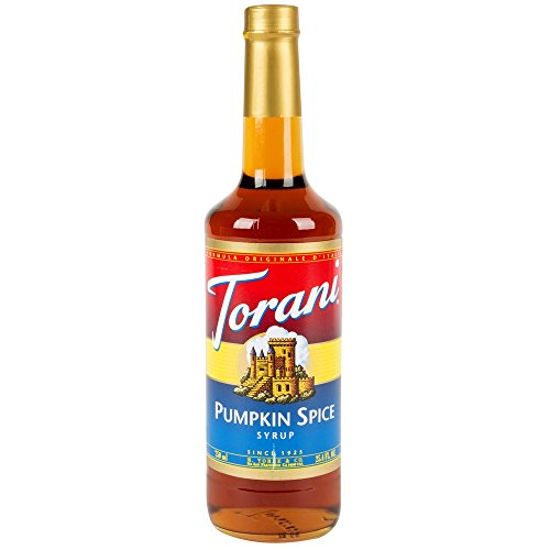 - Torani Pumpkin Spice Syrup 750mL Bottle