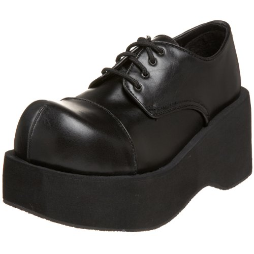 Demonia By Pleaser Women's Dank-101 Lace Up,Black Polyurethane,13 M - Oxfords Lace Pleaser