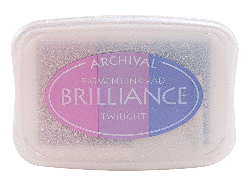 (Tsukineko Brilliance 3-Color Full-Size Pad, Twilight)