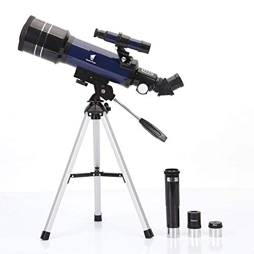 Geertop AZ Ultra-Clear Astronomical Refractor Tabletop Telescope with Tripod & Finder Scope, 400X70mm, for Beginner Sky Gazers & - Tripod Tabletop Telescope