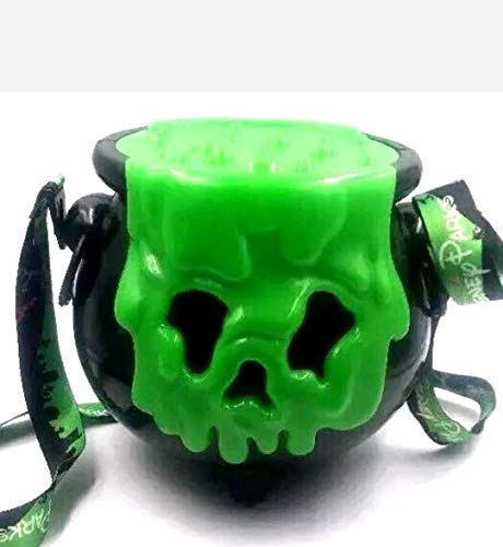 Disneyland Parks Halloween 2018 Light Up Poison Apple Cauldron Popcorn Bucket