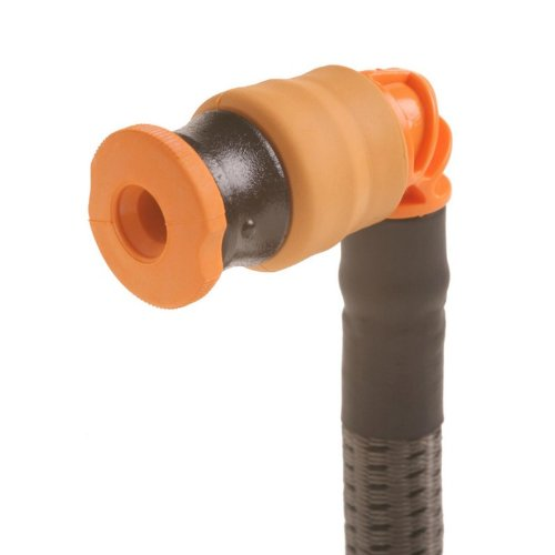 Source Outdoor Storm Hydration Push-Pull Drinking Valve Kit (Orange/Black) by Source