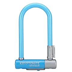 Krypto Series 2 Mini-7 U-Lock.13mm hardened steel shackle resists cutting and leverage attacksHigh security disc-style cylinderAnti-rattle bumpers reduce noise during transportIncludes new Transit Flexframe-U transport system for versatile ca...