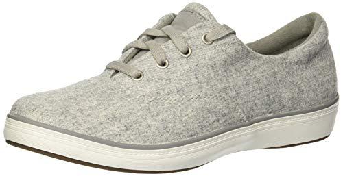 (Grasshoppers Women's Janey II Felt Sneaker,Gray,9.5 M)