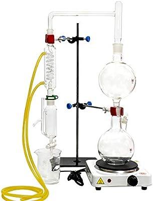 Kit de destilación de aceites esenciales de laboratorio de 2000 ml ...