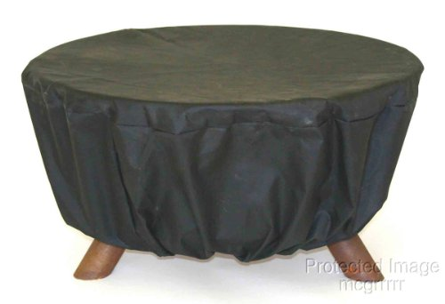 Patina Pits (Patina Heavy Duty Patio Fire Pit Cover - Fits, Landmann and Sojo Fire Pits - Firepit Cover)