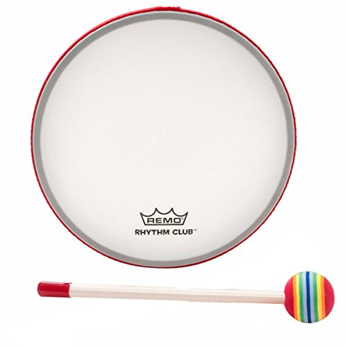 Remo Rhythm Club 8 inch Hand Drum with Mallet (Age 3+)