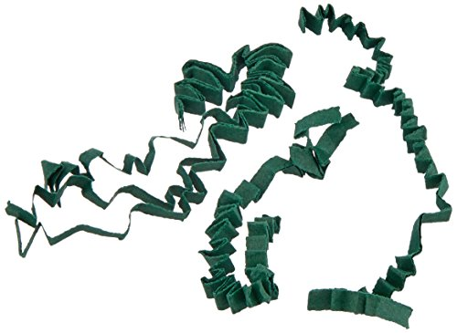 1/2 LB Crinkle Cut Paper Shred - Forest Green