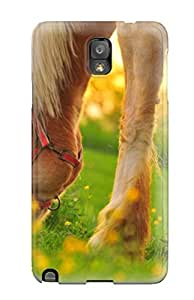 HjOQngg8030ESBqF Case Cover Horse Galaxy Note 3 Protective Case