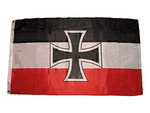 3X5 German Germany Jack Iron Cross 1871-1918 World War 1 Flag 3'X5' Banner -