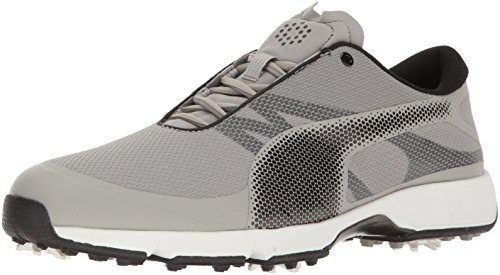 - Puma Golf Men's Ignite Drive Sport Golf Shoe, Drizzle Black-Puma White, 9.5 Medium US