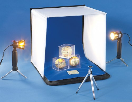 Deluxe Tabletop Lighted Photo Studio