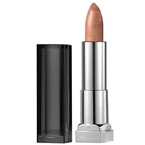 Maybelline New York Color Sensational Gold Lipstick Metallic Lipstick, White Gold, 0.15 oz