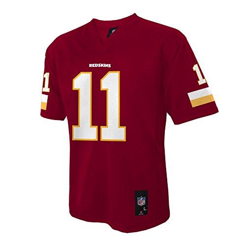 NFL Washington Redskins Boys Player Fashion Jersey, Small (8), Dark Cardinal