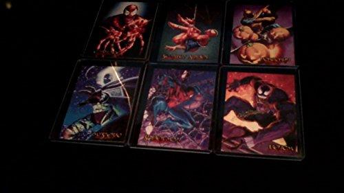 "1996 Fleer/SkyBox Spider-Man Premium '96 ""Eternal Evil"" Trading Card Box"