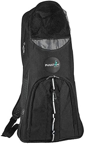 Snorkel Fits Fins Phantom Aquatics Snorkeling Backpack Diving Gear Bag with Shoulder Strap Mask and More Ideal Travel Bag for Scuba Diving Snorkeling Gear Equipment and Water Sports